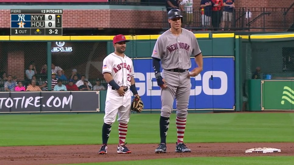 Jose Altuve and Aaron Judge | ShortGuyCentral