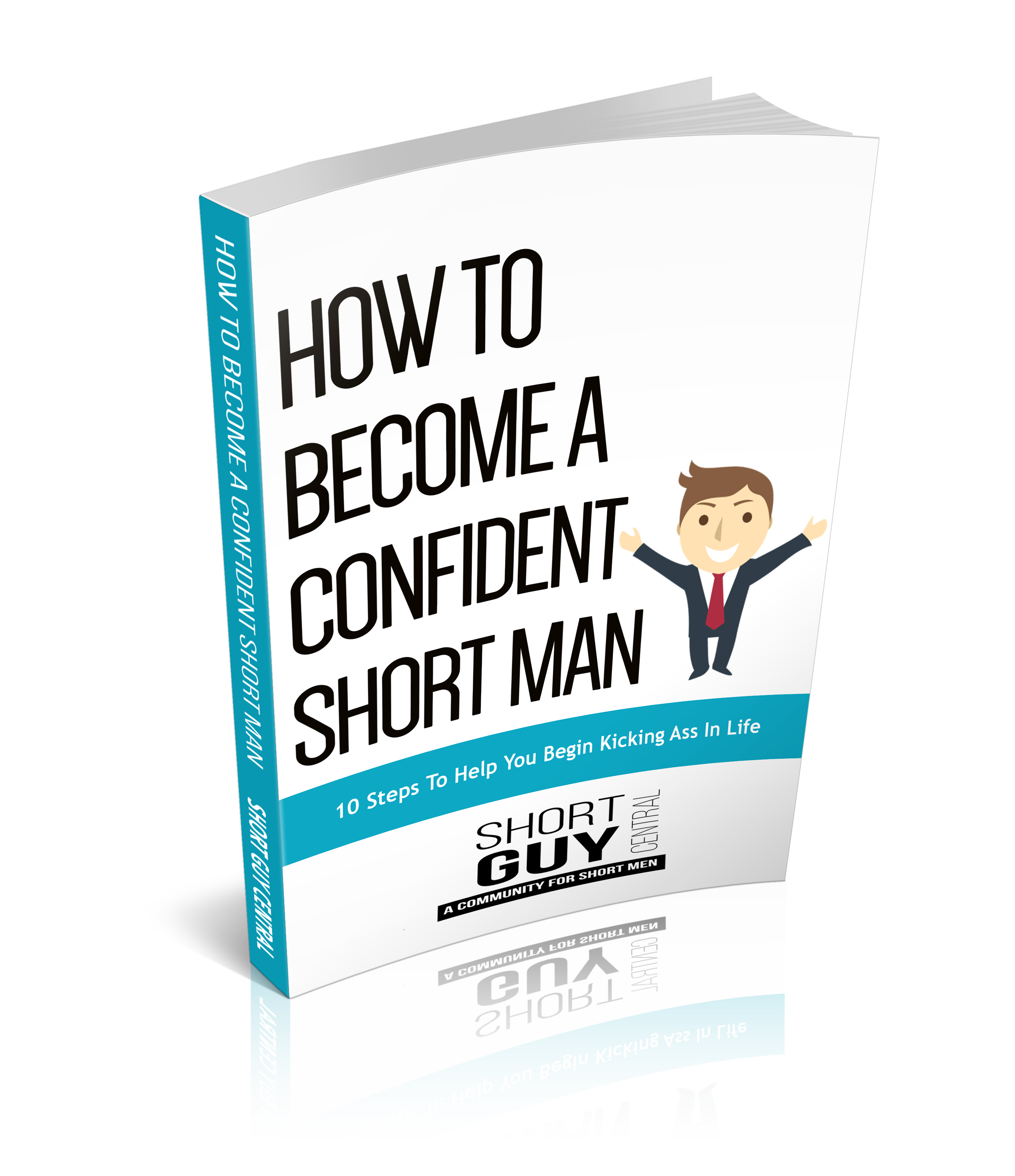 How To Become A Confident Short Man eBook | ShortGuyCentral