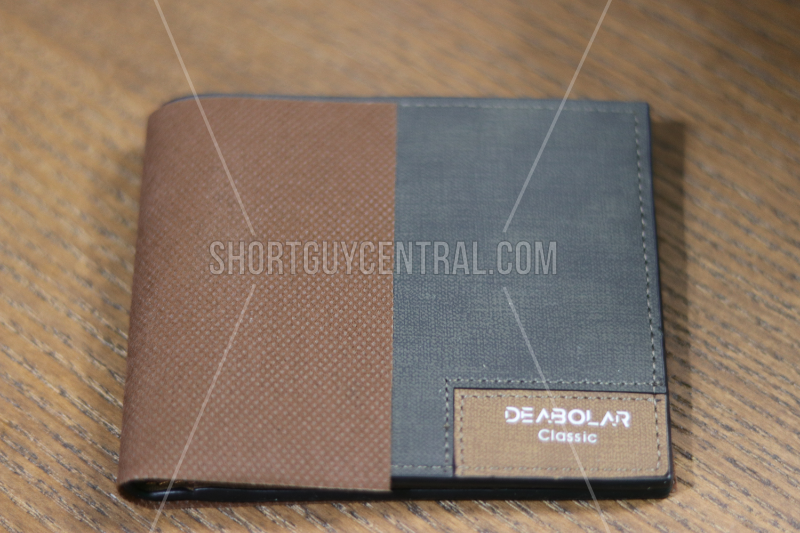 Fashion For Short Men: Humei Debolar Slim Wallet | ShortGuyCentral