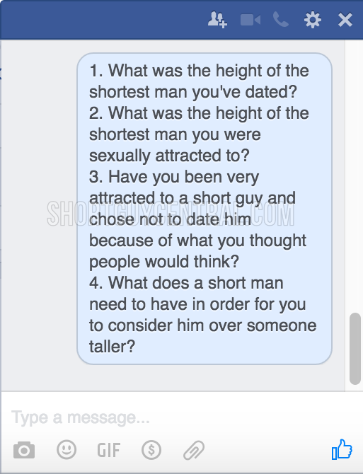 Four Questions To Women Who Date Short Guy | ShortGuyCentral