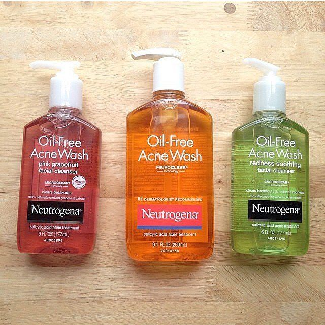 Skin Care For Short Men: Neutrogena Oil Free Acne Wash | ShortGuyCentral