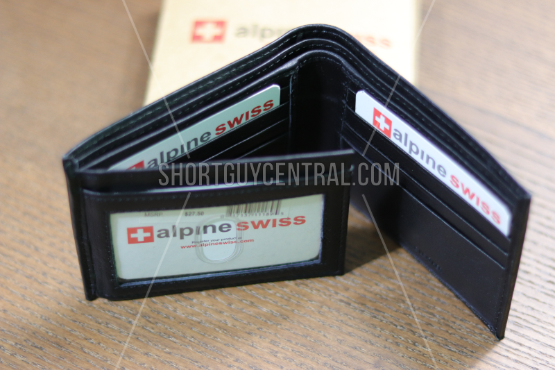 Slim Wallets: Alpine Swiss | ShortGuyCentral