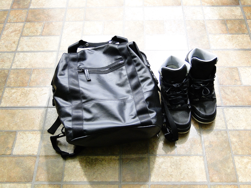 Fashion For Short Men: Winter Kenneth Cole Backpack, Nike Premiers | ShortGuyCentral