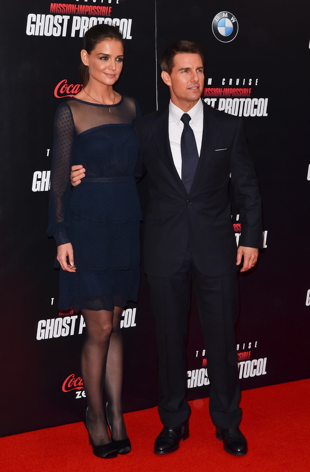 Height And Dating: Tom Cruise and Katie Holmes | ShortGuyCentral