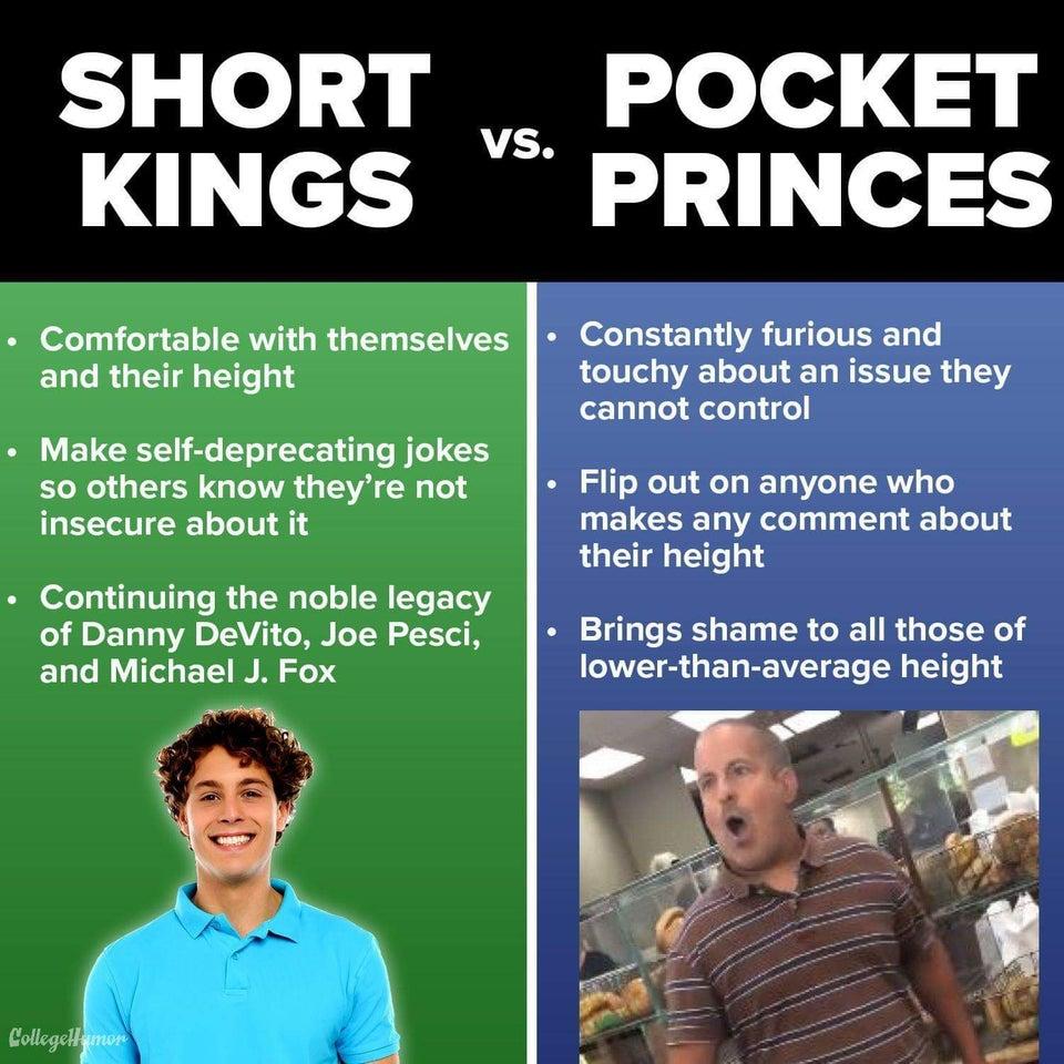 Short Kings vs Pocket Princes   ShortGuyCentral