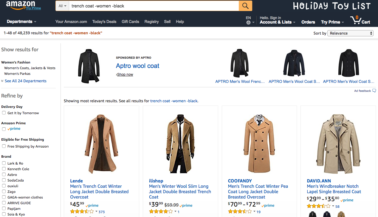 Amazon Search With Boolean Operators | Fashion On Amazon For Short Men | ShortGuyCentral