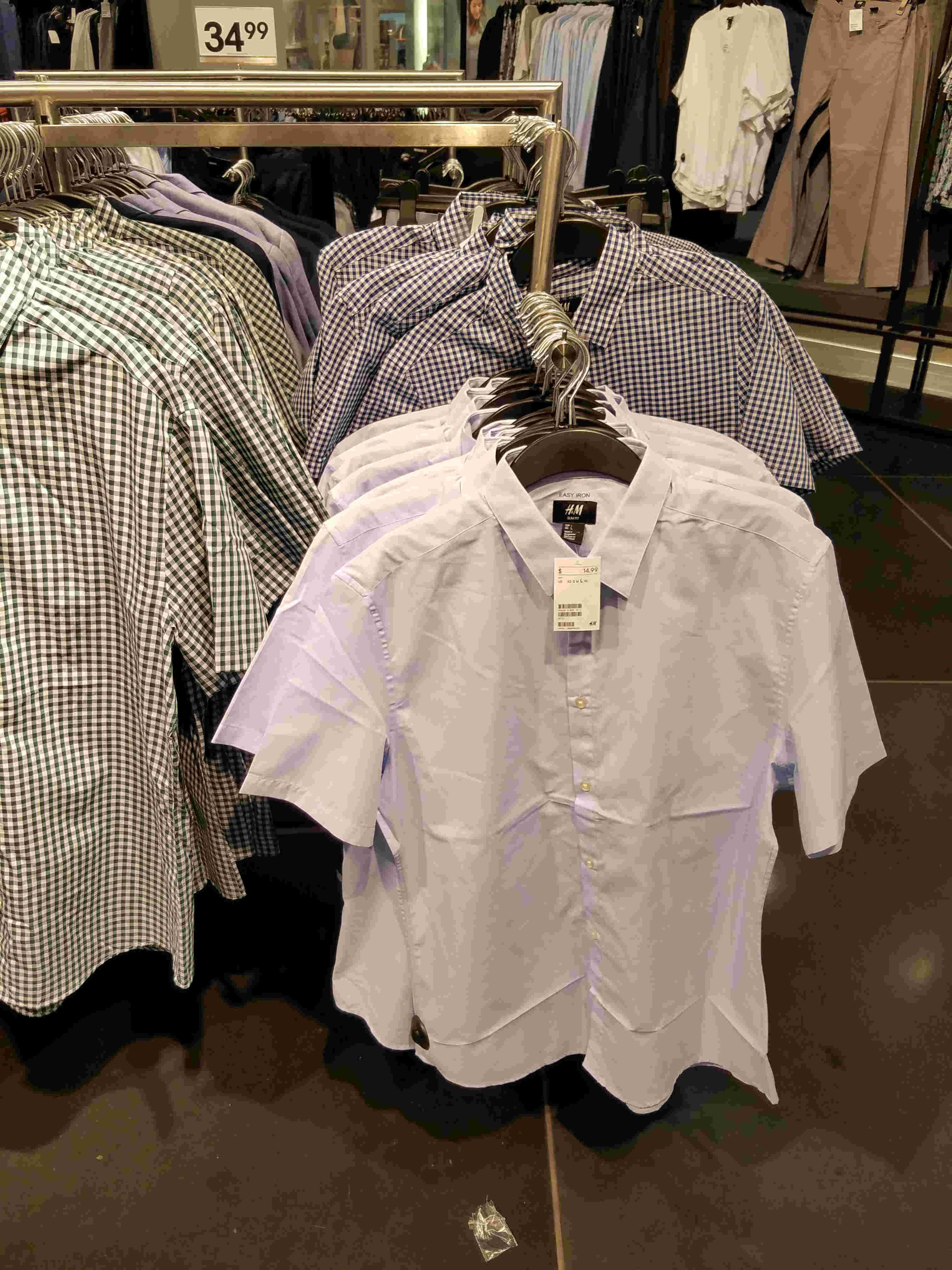 Summer Style For Short Men: Shirts At H&M | ShortGuyCentral