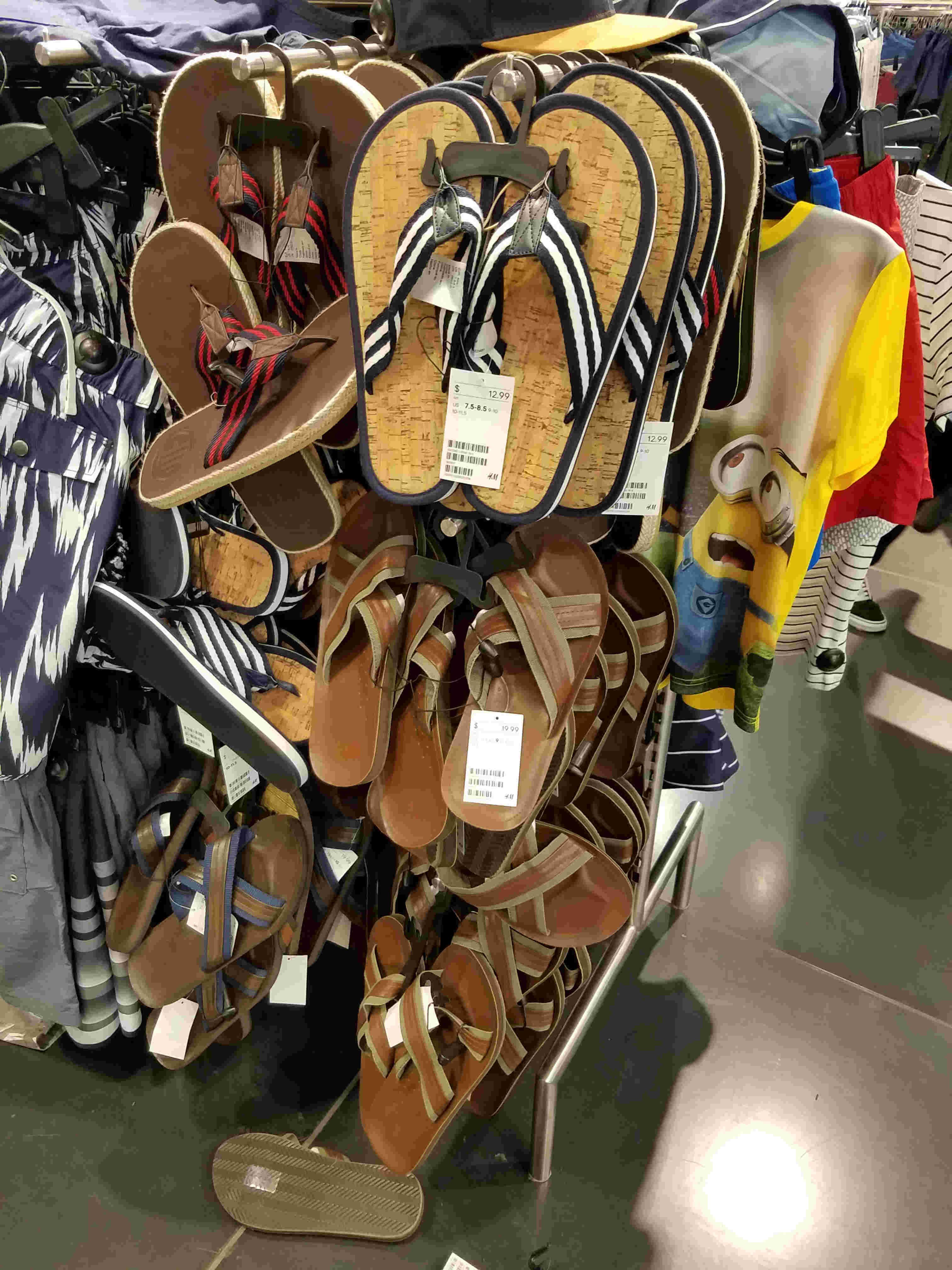 Summer Style For Short Men: Sandals In H&M | ShortGuyCentral